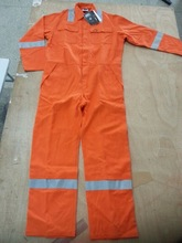 fire retardant working overall boiler suit