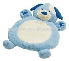 Cheap baby comfy non-toxic dog plush play mat