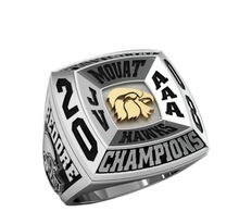 Youth Football Sport rings for Sport Club with 3D Mock up offered