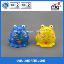 Handmade Frog Ceramic Piggy Banks