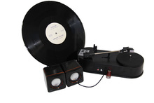 USB Turntable Player and Converter no PC required, USB vinyl record player-ezcap612