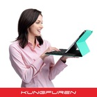 Bluetooth Keyboard cover with magnet stand for iPad mini1/2/3- K20-N