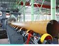 Qgw 1000 de tubos de acero interior y exterior de la pared de tipo granallado máquina de limpieza/equipos de chorro
