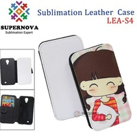 For Custom Samsung Galaxy S4 Leather Phone Case