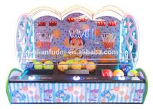Best Selling DF-B151 Kids Playing Arcade Games/Shooting Basketball Simulator Game Machine