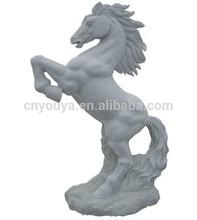 natural stone decorative life size horse sculpture