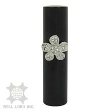 High quality Silver Flower ornament mini eau de parfum spray