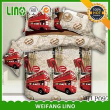 minion sleeping bag/applique work bed sheet/kids truck bed