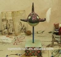 Antique resin sea whales vienna souvenirs for sale