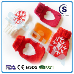Snowflake design Heat Pack With Cloth Cover