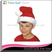 Plush Santa Hat for Children