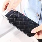 Creative foldable PU leather mini phone bag /holder