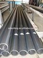 polietileno de alta densidad de gran diámetro hdpe80 negro de tuberías para el abastecimiento de agua