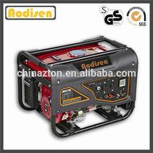 2000W-7000W powerful engine new Aodisen ZT2500S dc generator low rpm CE approved, home petrol honda generator