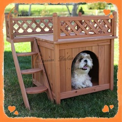Design Wooden Cheap Oem Flooring Dog Kennel Buildings
