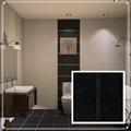 noir et blanc motifs carreaux de salle de bains carrelage mural salle de bain décoratifs