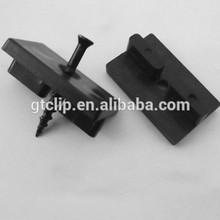 Plastic decking clip