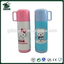 2014 Hot sale 400ml lovely cartoon stainless steel kids water bottle