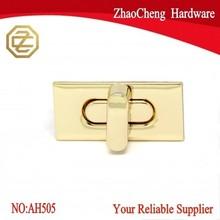 36.5 X 17.5 mm Rectangle elegant metal purse Twist Lock Hardware