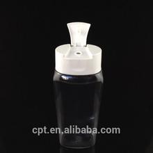 2014 new 280ml pet bottle with flip top cap