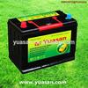 12V 65AH Calcium Sealed Maintenance Free Automotive Battery N50Z MF Car Starting Battery