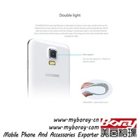 gold plated doogee dg310 touch screen g5 mobile phone