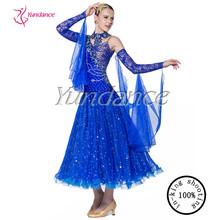 Fille robe de danse latine salle de bal 2015 b-1115