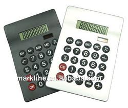 Dual solar Power Desktop electronic Calculator