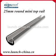 Shenzhen launch Single Slot Stainless Steel Glazing Tube