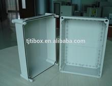 hinged plastic enclosure 400x300x180 mm