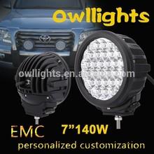 New Arrival 7'' 140w LED Driving Light 4x4, 96w LED spot Lights, LED Driving Light