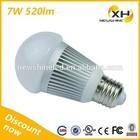 Low Power E10 E27 B22 Base Plastic 1 Watt LED Bulb