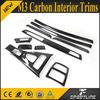 10PCS/SET 09-12 M3 Carbon Interior Trims for BMW E92/E93 3 Series