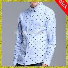 High quality mens dress shirt printing