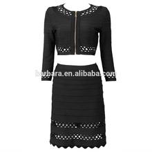 2014 hot sale bandage dress Celebrity bodycon dress Wholesale/retail