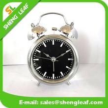 Classic alarm clock traditional metal desk clock