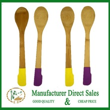 bamboo spoon silicon
