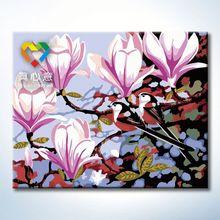 modern flower oil painting 40x50cm japanese nail art supplies