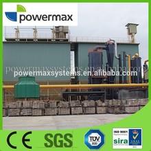 2mw biomass double-fire fixed-bed gasifier power generator