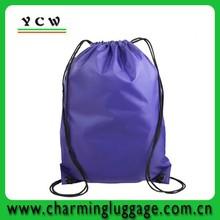 factory custom drawstring bag /small nylon drawstring bag from China
