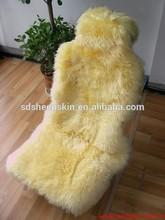 Elite Deluxe Long Hair Sheepskin Zebra Car Seat Covers