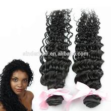 Perruvian Deep Wave Curly 7A Peruvian Virgin Weft Weave Hair Extension Hair Salon Equipment