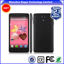Hot selling best price 5 inch RAM512M and ROM4GB Quad core GPS 3g super slim low price smart mobile phone