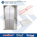 Long Wedding Dress garment bag wholesale, Non-woven Zippered Protect Your Dress From Dusts And Dirt