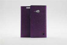 back cover case for nokia lumia 730,folio pu leather case for nokia lumia 730 735