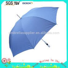 Fashionable Cheapest multi color promotional golf umbrella
