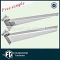 Loja de metal suportes suporte plano / metal decorativo / display suporte de prateleira