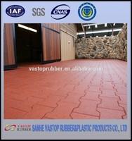 Dog Bone Rubber Brick Paver Mat For Horse