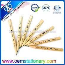 Custom wooden pencil/eco-friendly pen/promtional pencils
