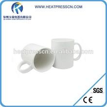 White blank sublimation ceramic mug for printing photo